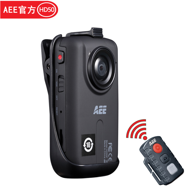 Máy ảnh thể thao  Official AEE HD50F Outdoor Sports Camera HD home DV Camcorder mini remote control