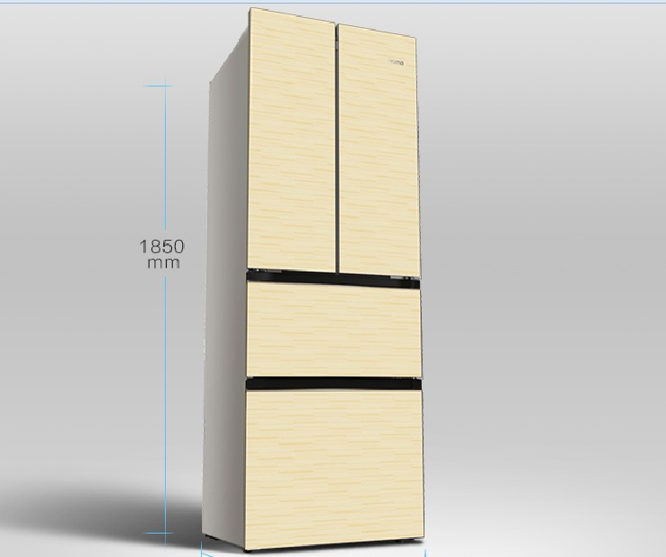 Tủ lạnh  Omar refrigerator manufacturers selling small French household energy-saving multi door sh