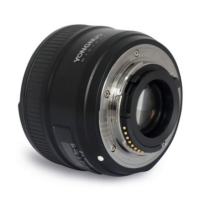 Máy ảnh phản xạ ống kính đơn / Máy ảnh SLR  Yongnuo 35mmF2 constant aperture small spittoon portrai
