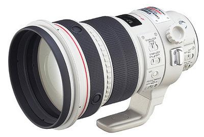 Máy ảnh phản xạ ống kính đơn / Máy ảnh SLR  EF 200mm f/2L IS USMCanon telephoto focus SLR Lens