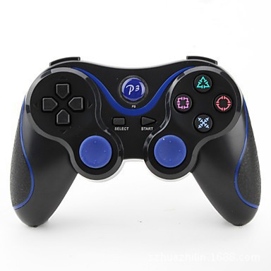 Factory direct PS3 private Bluetooth game handle six axis gyroscope built-in battery game handle can