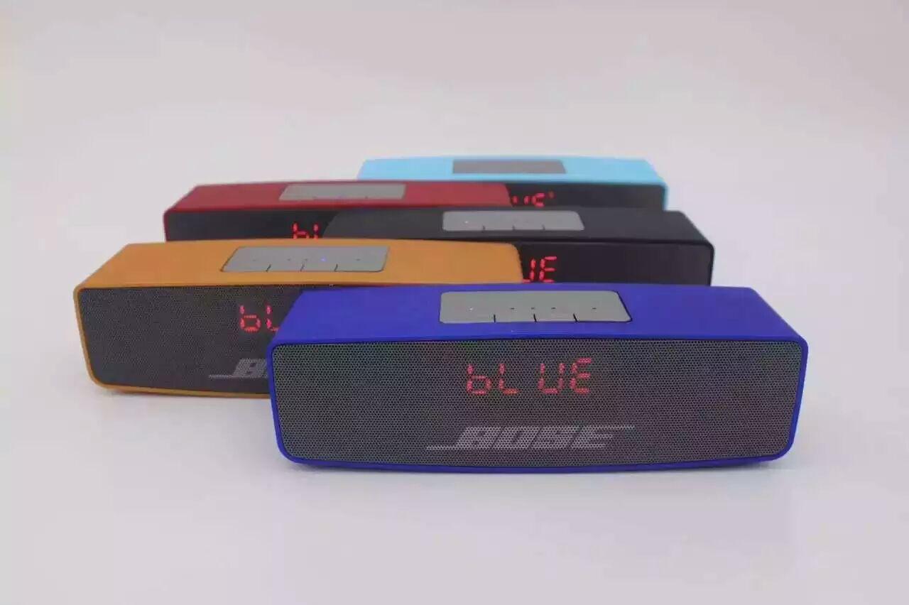 K808 screen wireless Bluetooth speaker with handsfree speaker, insert TF Card mini Bluetooth Bluetoo