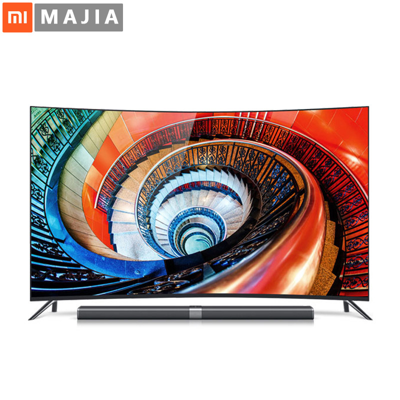 Tivi LCD   Xiaomi/ millet millet TV 3S 65 inches curved surface 4K ultra-thin intelligent TV