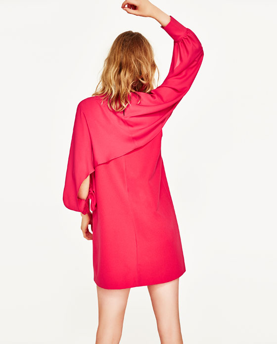 Split sleeve dress