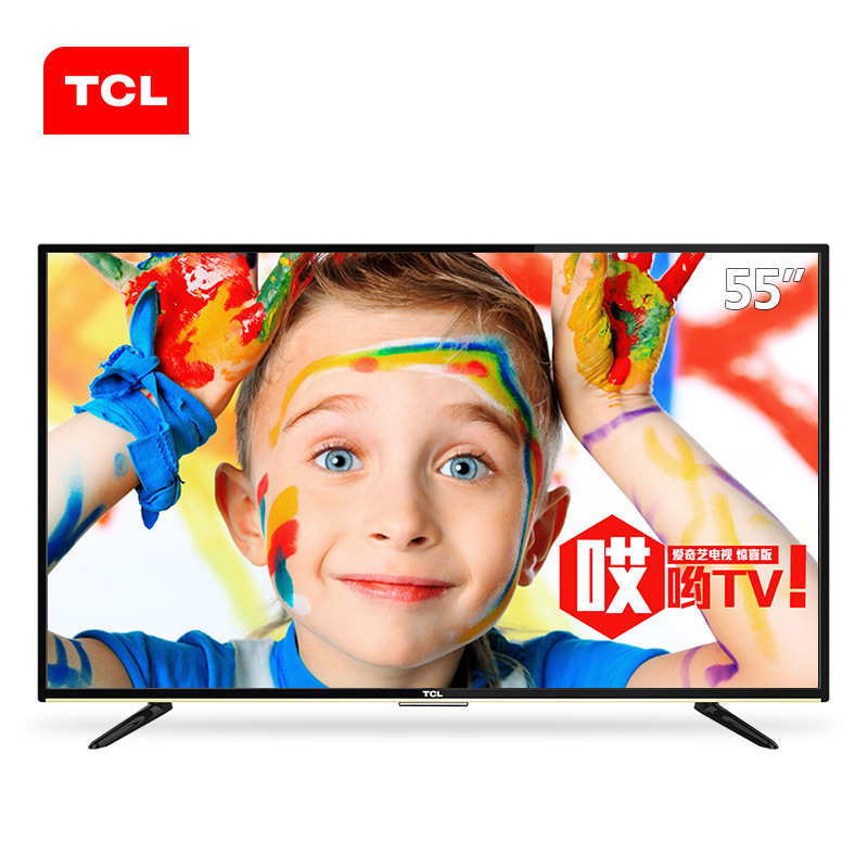 TCL D55A710 55 inch https://detail.1688.com/offer/541654157960.htmlTV smart upgrade Android core eig