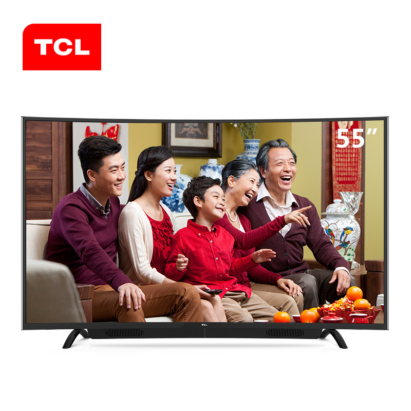 TCL L55P1S-CF 55 inch surface Android smart LED LCD TV [original genuine]