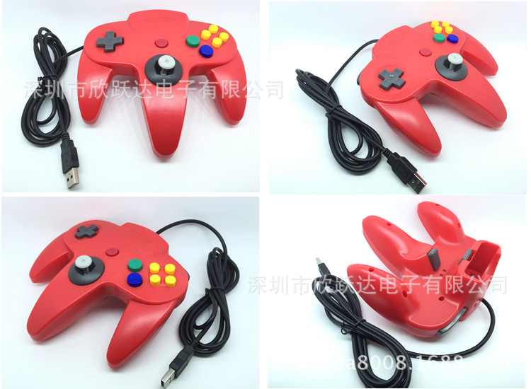 N64 game handle USBN64 handle N64USB cable game handle PC