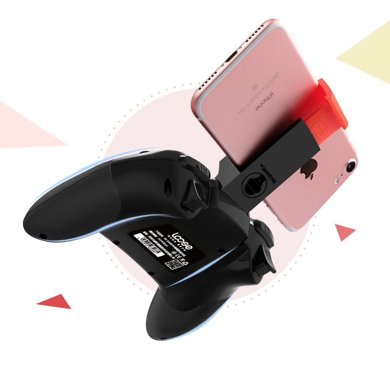 Tay cầm chơi game  Wireless Bluetooth gamepad support IOS Android mobile phone for the new game hal