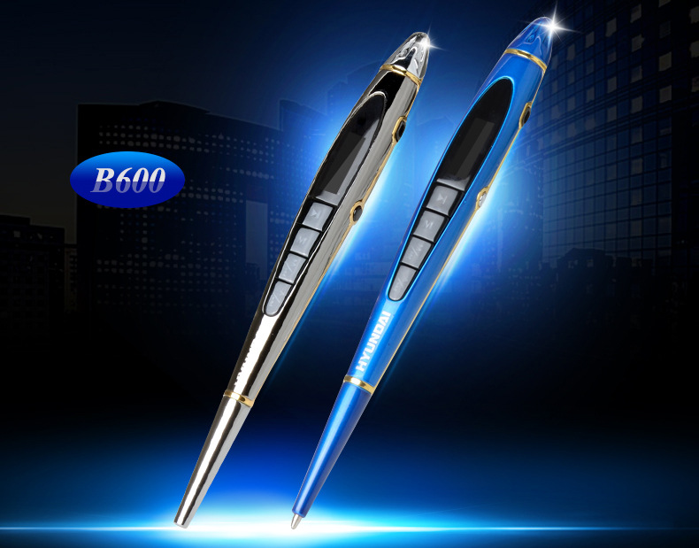 Máy ghi âm  South Korea's modern b600 recording pen can be written and recorded Bibi high Qingyuan