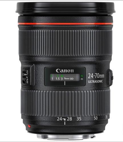 Máy ảnh phản xạ ống kính đơn / Máy ảnh SLR  Canon EF 24-70mm f/2.8L USM two generation SLR Lens lic