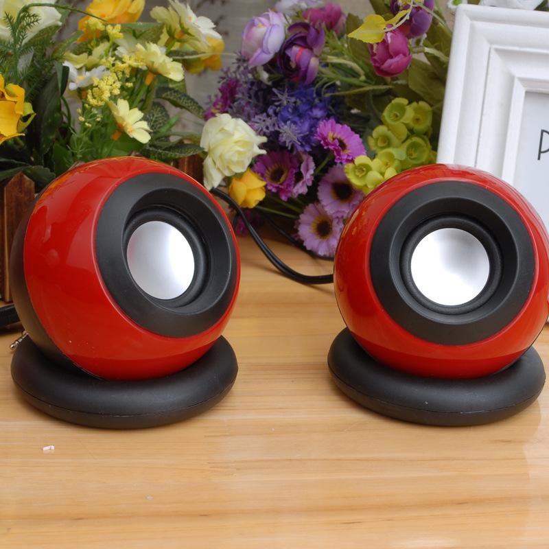 Thị trường âm h ưởng   Magic Ball 2 USB mini sound small speaker laptop desktop subwoofer