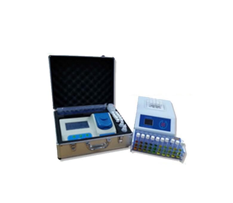Portable water quality detection and analysis instrument, environmental monitoring, total copper / c