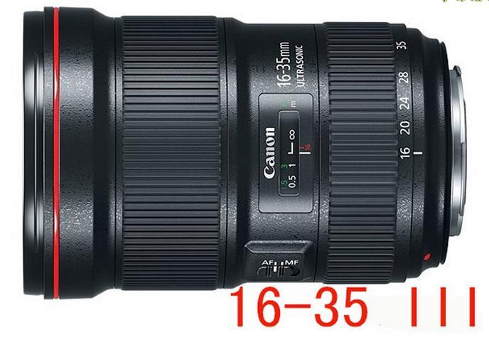 Máy ảnh phản xạ ống kính đơn / Máy ảnh SLR  Canon Canon/ EF 16-35mm F2.8L III USM third generation