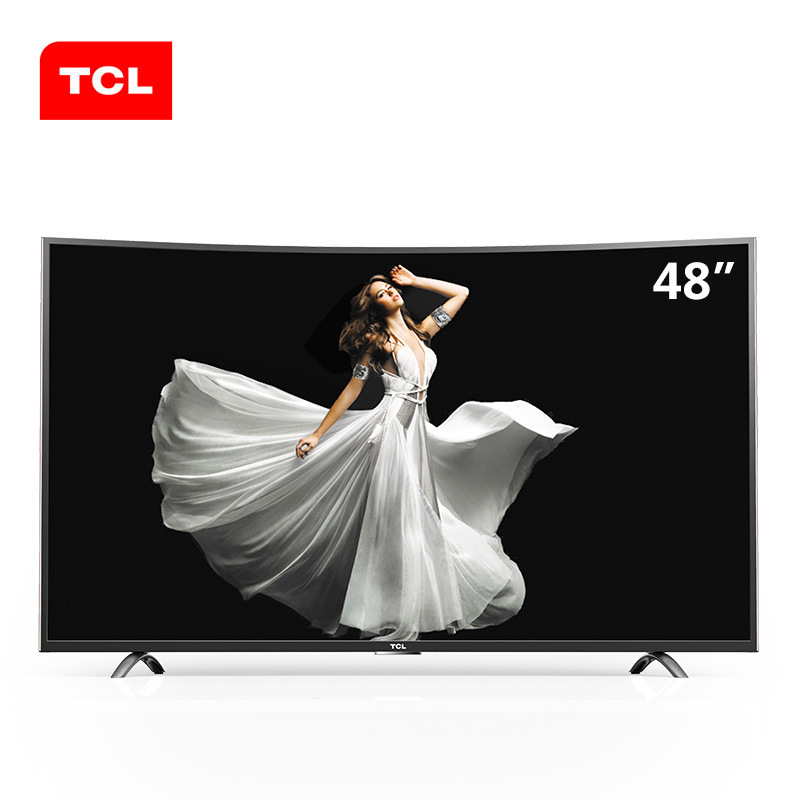 Tivi LCD   TCL D48A920C 48 Inch curved TV Android smart LED LCD TV