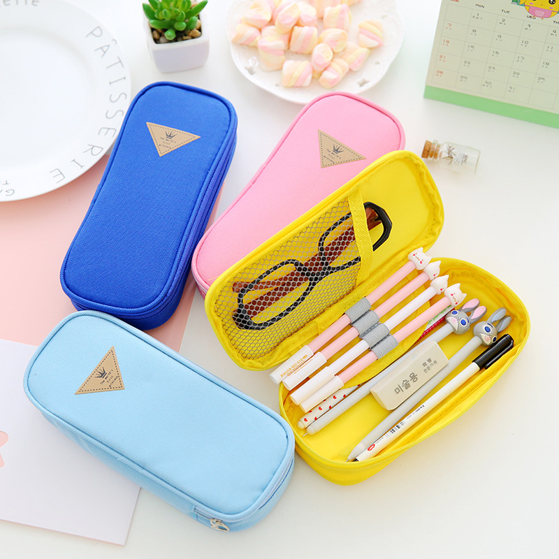 Liancheng South Korea stationery stationery minimalist style candy color large multi function pencil
