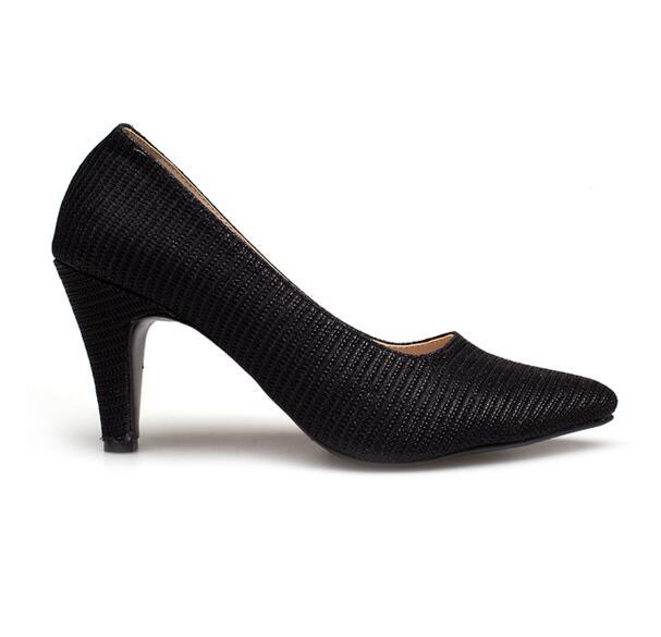 Ease รองเท้าส้นสูง รุ่น 6-36 (Black)
