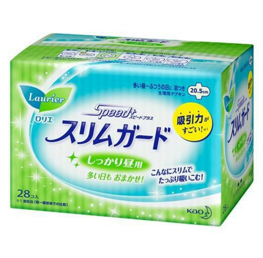 Japanese production LAURIER music and elegant daily use of wing sanitary napkins 20.5cm * 28 into th