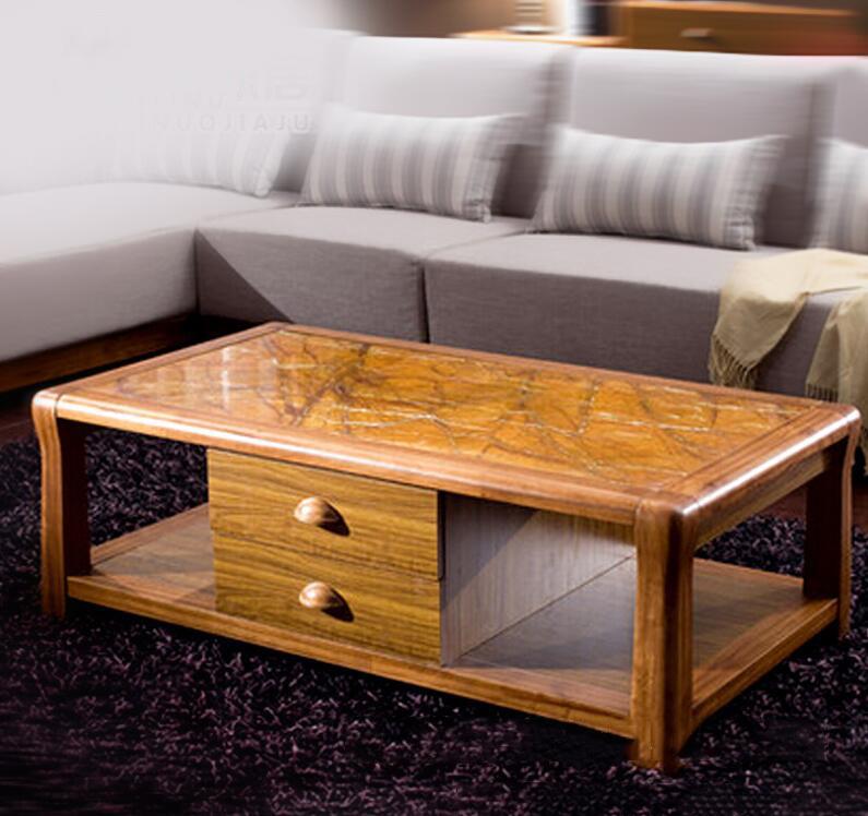 Bàn gỗ phòng khách chất liệu gỗ ZINGANA MS123-135
