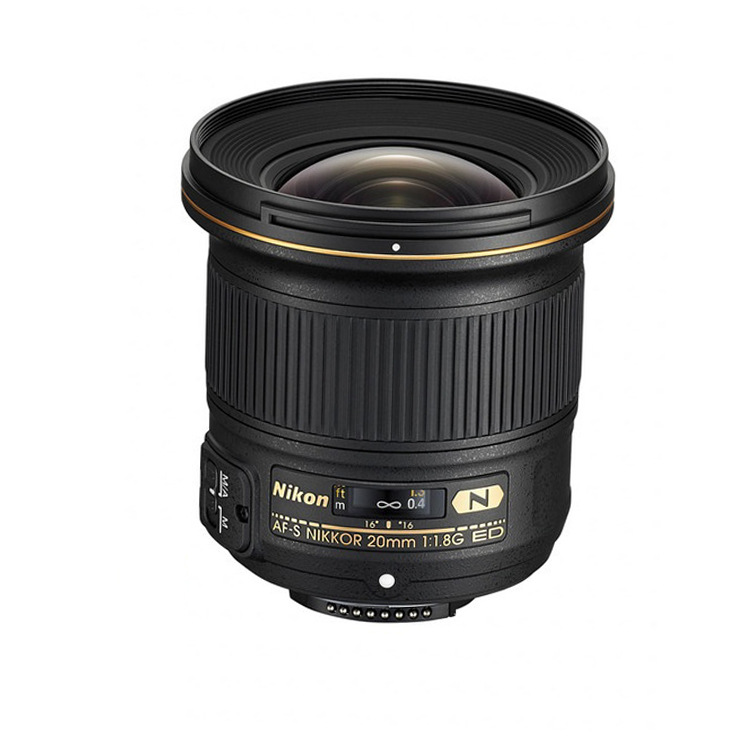 Máy ảnh phản xạ ống kính đơn / Máy ảnh SLR  Nikon AF-S Nikkor 20mm f/1.8G ED wide-angle lens lens l