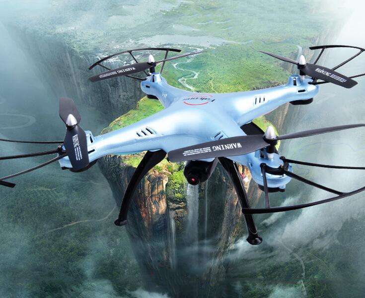 Máy bay UAV X5HW máy bay 4 trục WIFI truyền thời gian thực độ nét cao