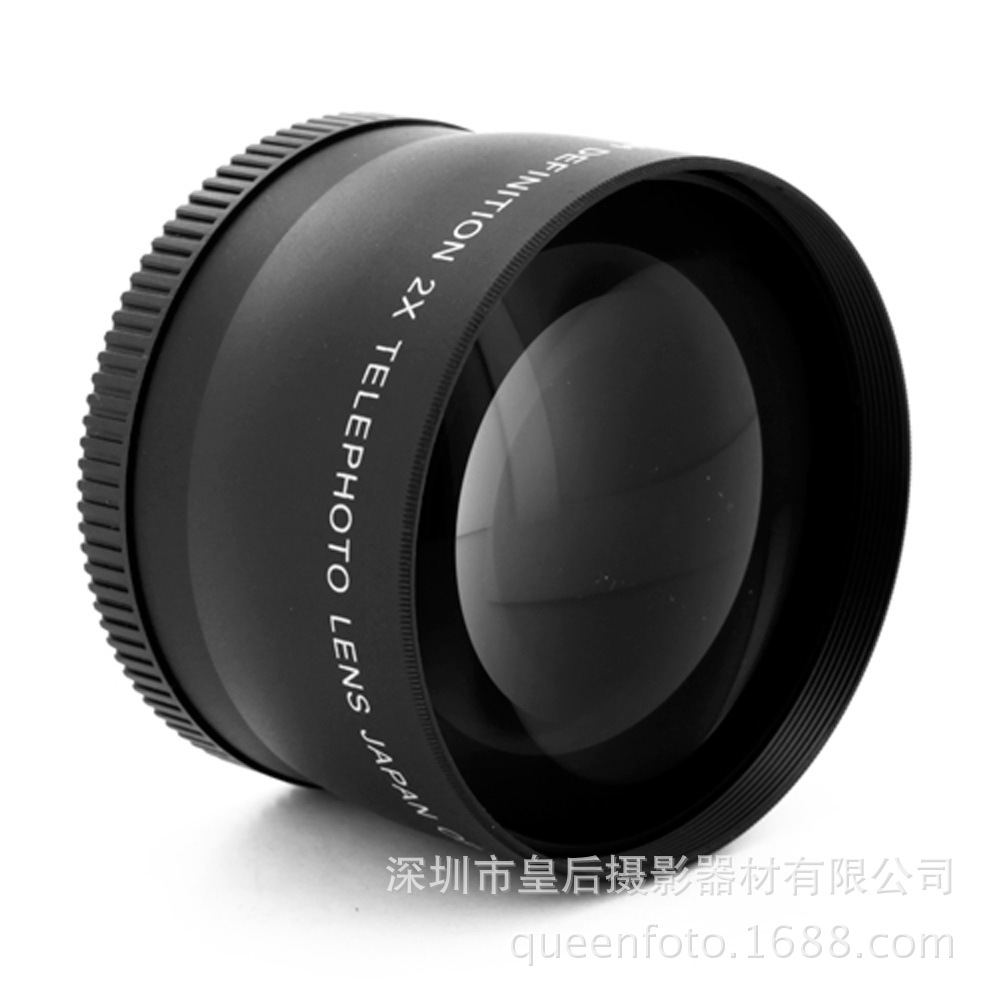 62MM 2.2X times the additional telephoto lens for Canon Nikon SONY Pentax SLR filter size 72MM