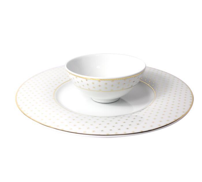 Đồ dùng gia dụng  German Cara KAHLA stars - the magic of anti - tableware (6 servings) tableware bow