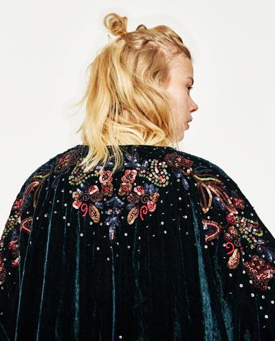 Bead piece kimono dress