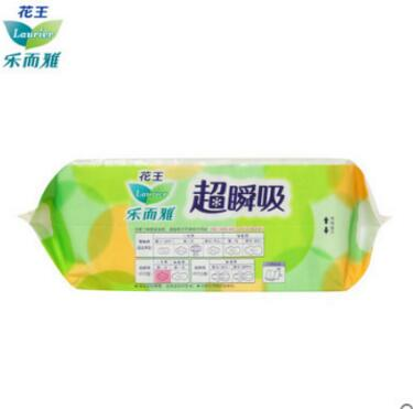 Kao Lok and Ya Chao instantaneous suction slippery daily wings sanitary napkins 22.5cm30 tablets