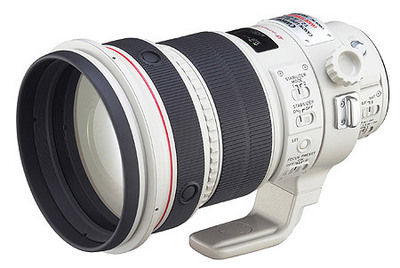 Máy ảnh phản xạ ống kính đơn / Máy ảnh SLR  Canon EF 500mm f/4L IS USMCanon telephoto lens focal le