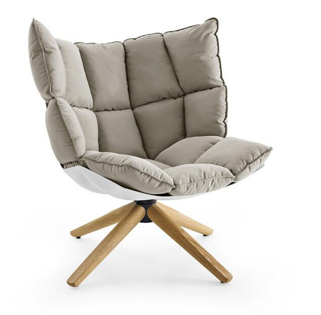 Ghế sofa đơn theo phong cách Nordic (Bắc Âu) ARROGANT JH-B11