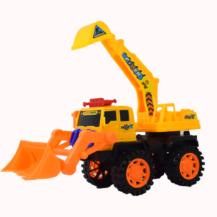 The upgraded version of the engineering vehicle sliding soil shovel excavator vehicle mounted soil t