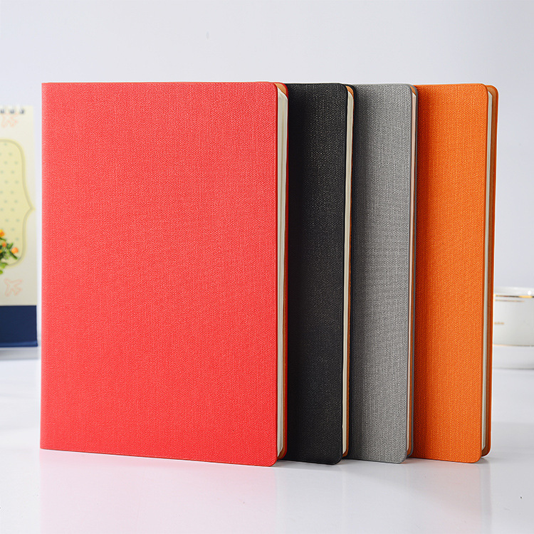 New office notebook creative high-end notebook stationery diary book customization LOGO