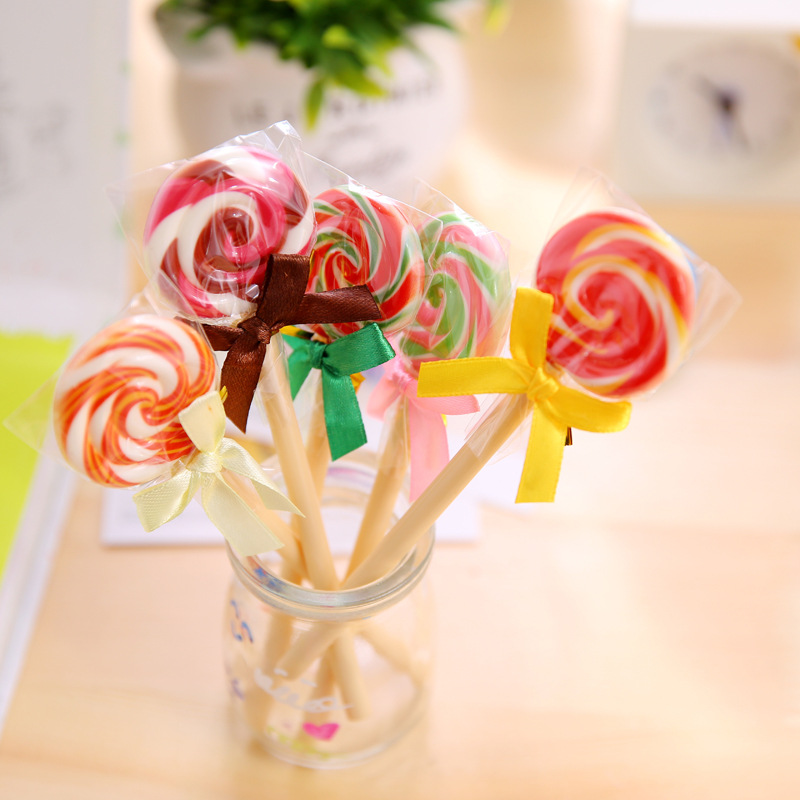 YZ27 simulation of South Korea creative stationery gift pen pen lollipop cute student stationery who