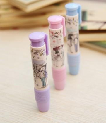 Love sweet love story 1232 Korean secret press eraser creative student stationery wholesale
