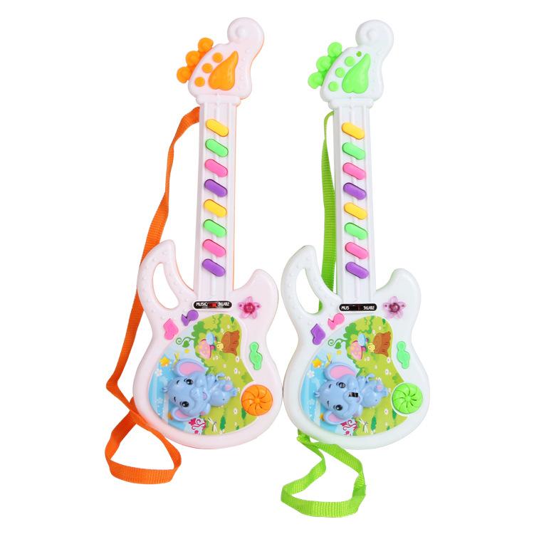 Ghita điện tử đồ chơi trẻ em hình chú voi lém lỉnh