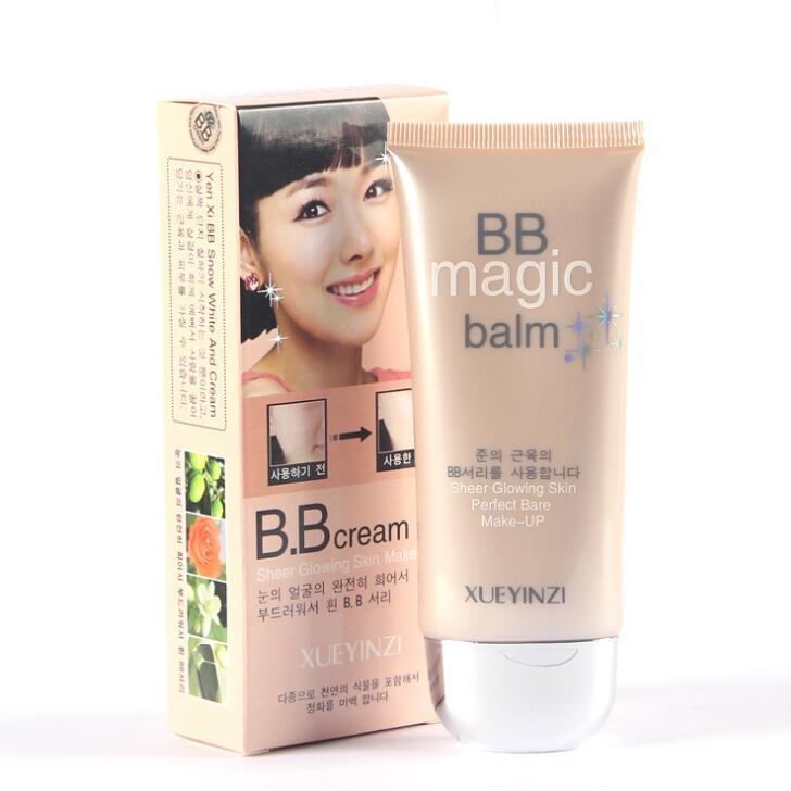 Wholesale authentic snow cherry snow Yan pure fair white BB bare makeup cream whitening moisturizing