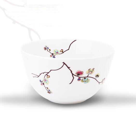 Đồ dùng gia dụng  German Cara KAHLA leaves tableware (6 servings) soup bowl deep dish Platter
