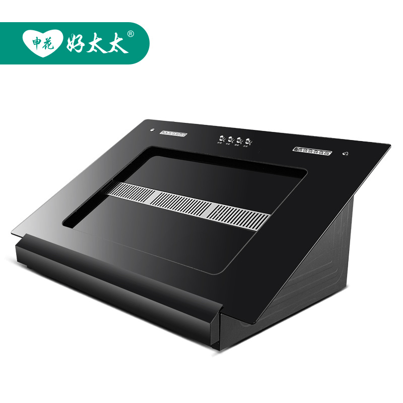 Máy hút khói khử mùi   Factory direct lampblack machine side suction hood such large suction OEM bra