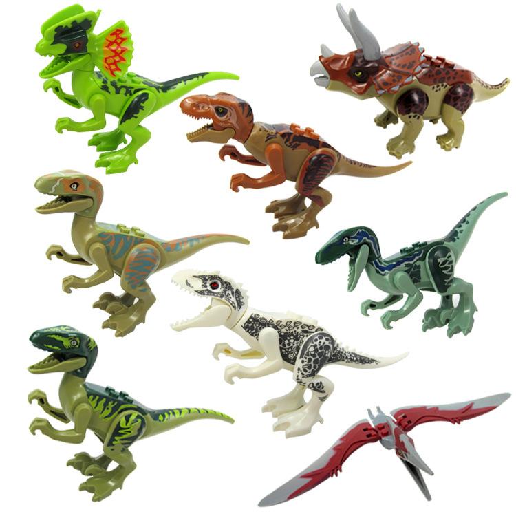 Bộ 8 khủng long lắp ghép DY