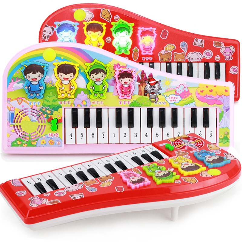 Selling children's cartoon toy electronic organ early childhood educational toys electronic organ a