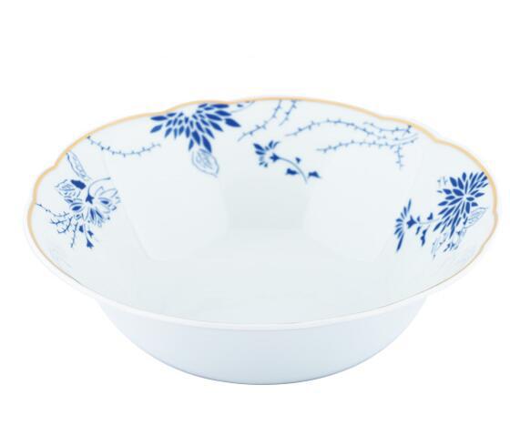 Đồ dùng gia dụng Cara KAHLA - blue and white tableware (6 servings) tableware bowl creative ceramic