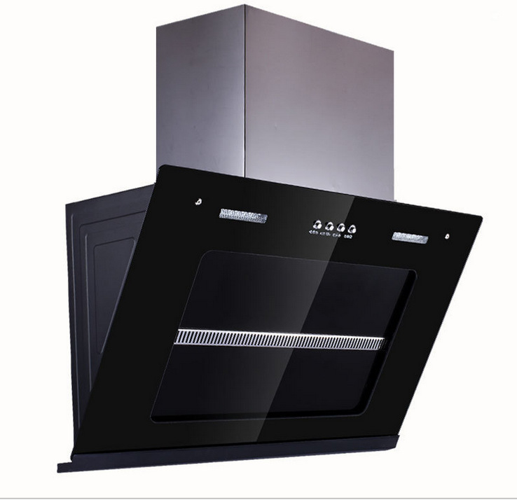 Máy hút khói khử mùi   Lampblack machine manufacturers wholesale authentic 2 times hood side suction