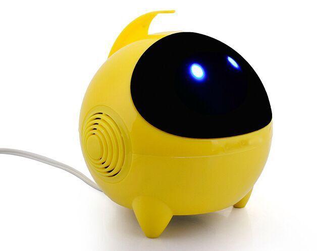Thị trường âm h ưởng   168 robot mini mini audio 2.0USB notebook computer speaker subwoofer
