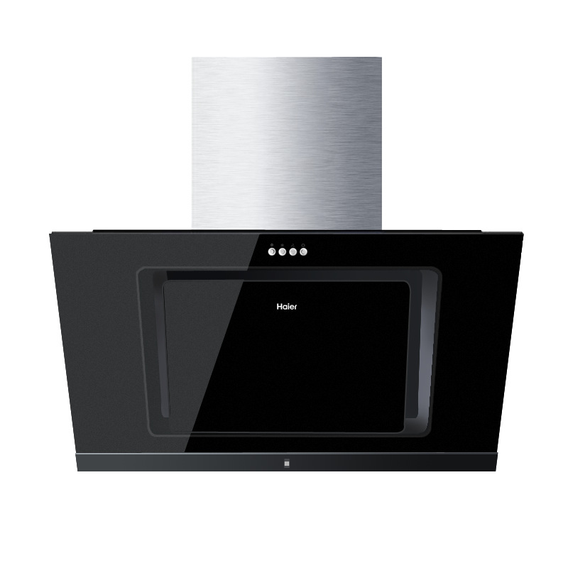 Máy hút khói khử mùi   Haier/ Haier kitchen lampblack machine side suction large suction hood smokin