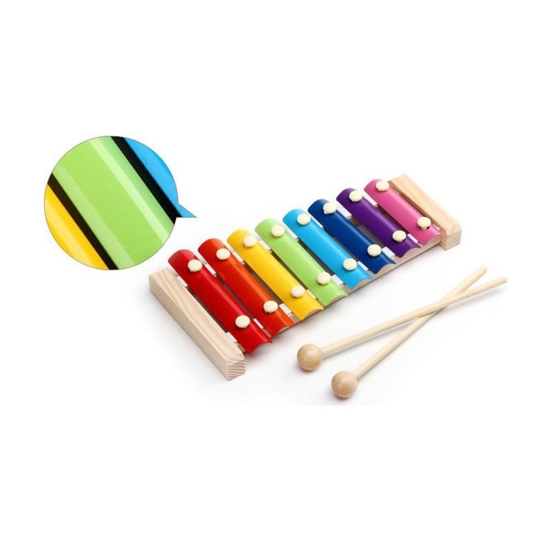Bộ đàn gõ Xylophone nhiều sắc màu cho trẻ em