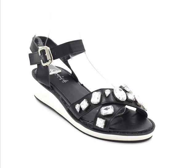 Quick Step รองเท้าแฟชั่น AD12 (Black)