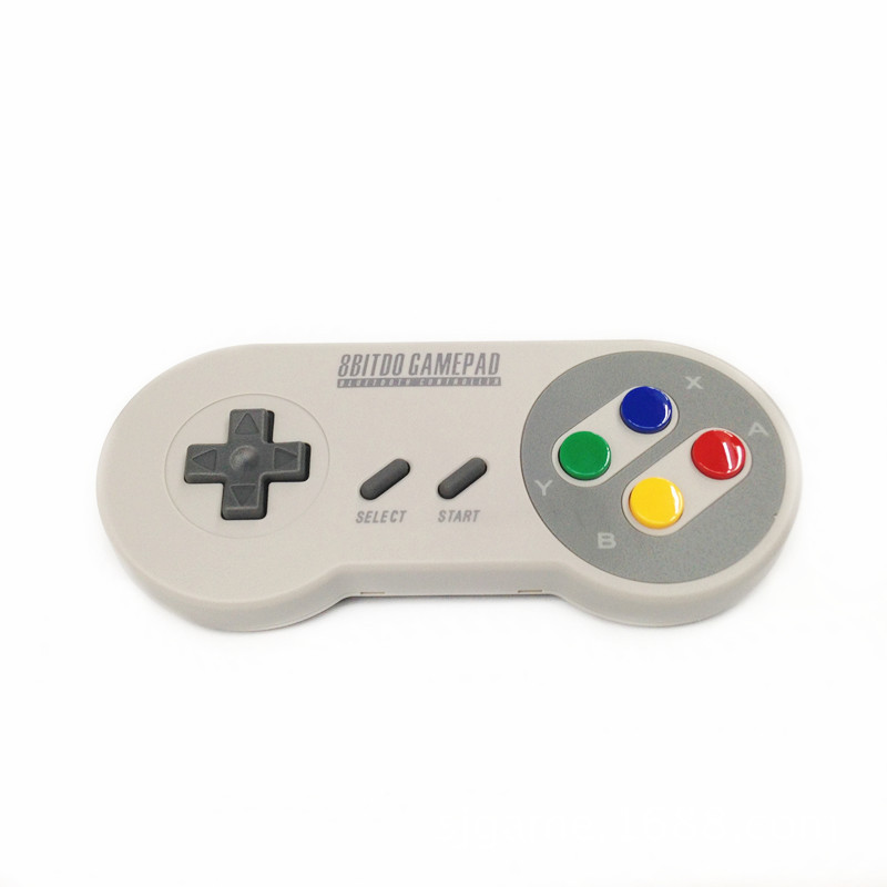Tay cầm chơi game  New eight hall 8Bitdo SFC30 Bluetooth handle wireless handle support Android /iO