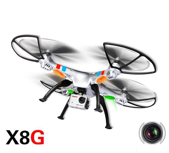 5Sima SYMA X8G máy bay 4trục UAV lớn UAV mô hình trên không 500W HD