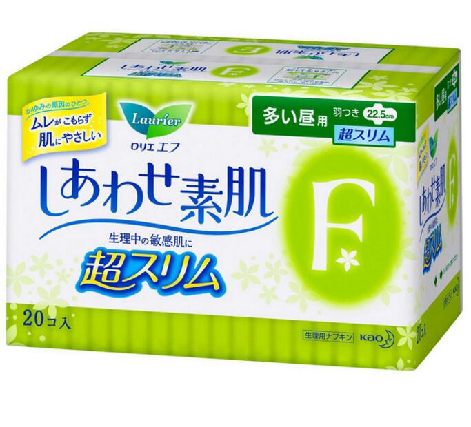 Kao sanitary napkins import music and elegant F 20 pieces of the domestic stock full box daily use