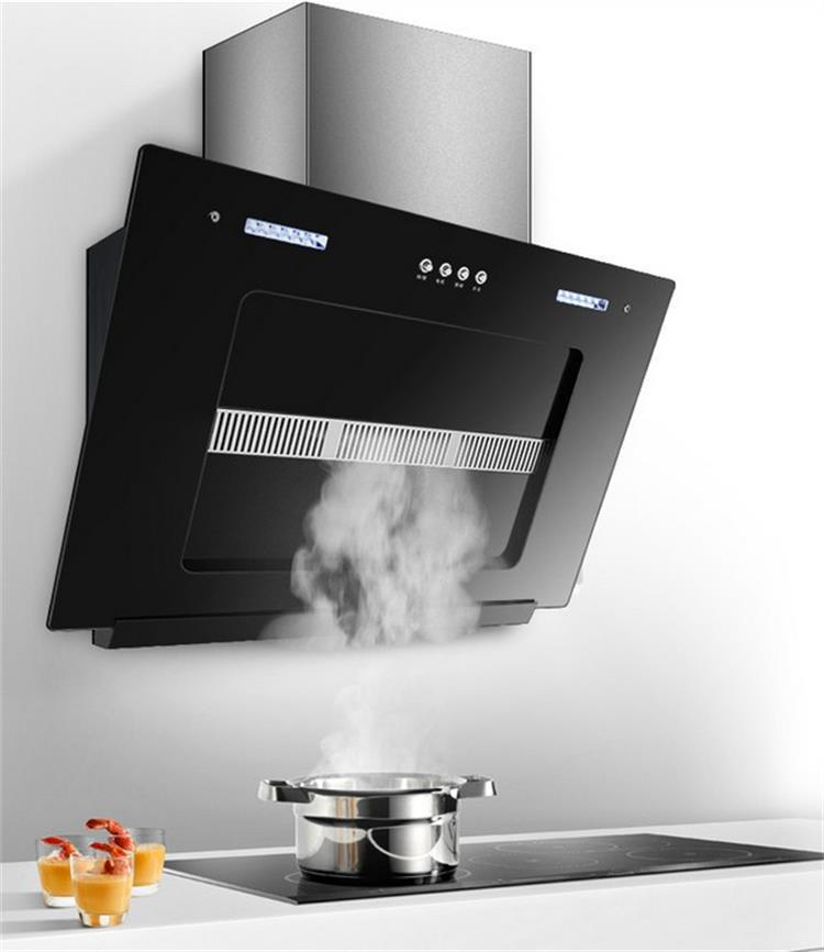 Máy hút khói khử mùi  Smoke lampblack machine European side suction household kitchen electric appli
